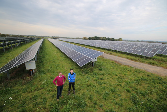 Community solar farm near Selsey now generating and share offer launched
