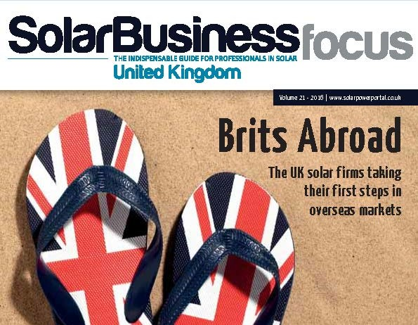 Solar PV Development in Ireland Featured in Solar Business UK