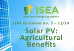 Solar Pv Agricultural Benefits